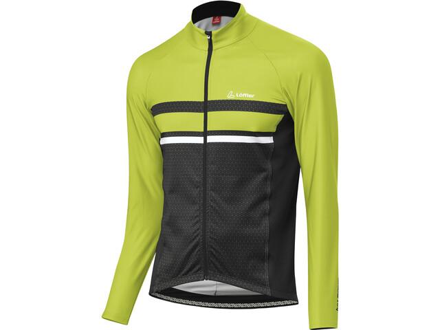 Löffler Hotbond RF Maglietta Da Ciclismo A Maniche Lunghe Uomo, light green